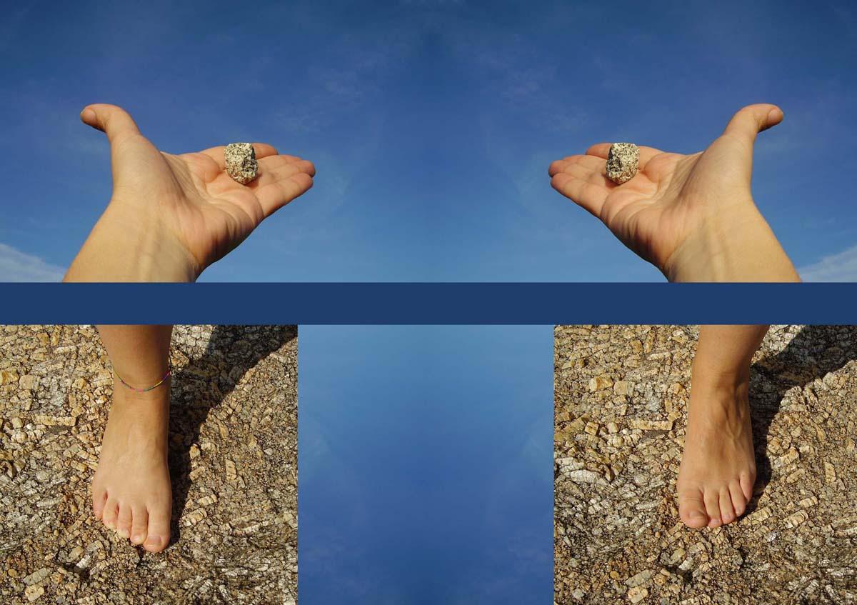 Manos al cielo y pies a la tierra